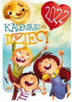 Kalendarz 2022 Ścienny wieloplanszowy Dla Dzieci