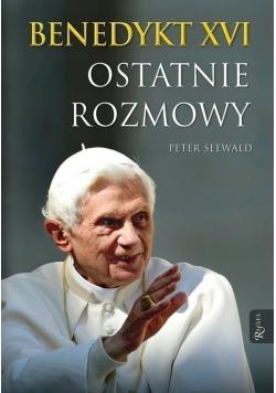 Benedykt XVI Ostatnie rozmowy
