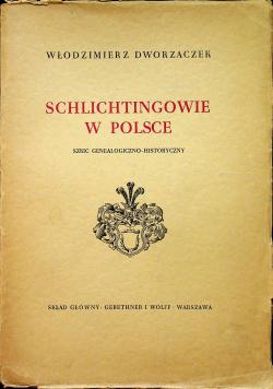 Schlichtingowie w Polsce 1938 r.