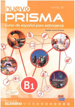 Nuevo Prisma nivel B1 podręcznik + CD EDI-NUMEN