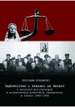 Sądownictwo i skazani na śmierć z przyczyn politycznych