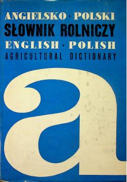 Angielsko polski słownik rolniczy