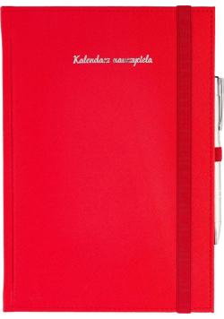 Kalendarz Nauczyciela B5 2020/2021 Cross czerwony