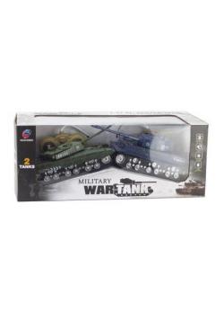 Czołgi RC - 4 kanały, światło, dźwięk, z ładowarką