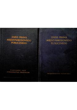 Zarys prawa międzynarodowego publicznego 2 tomy