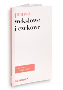 Prawo wekslowe i czekowe 11.02.2020