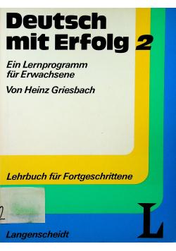 Deutsch mit Erfolg 2
