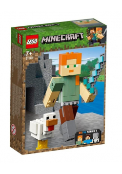 Lego MINECRAFT 21149 Alex big fig