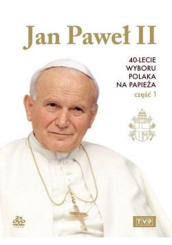 Jan Paweł II 40-lecie wyboru na papieża cz 1 DVD Nowa
