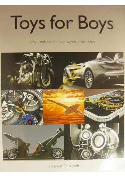 Toys for Boys czyli zabawki dla dużych chłopców