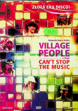 Village People Can t stop the music DVD Nowa