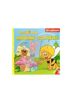 Pszczółka Maja z.3 Malowanki - zgadywanki FK