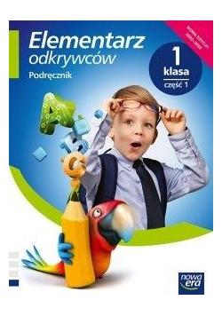Elementarz odkrywców 1 Język Polski Podr.cz.1 2020