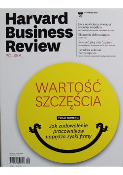 Harvard Business Review nr 6 Wartość szczęścia