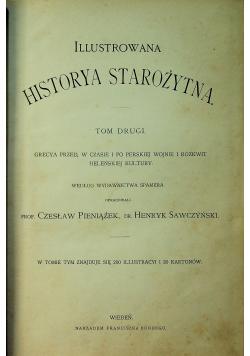 Ilustrowana historya starożytna Tom II ok 1900r