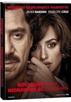 Kochając Pabla, nienawidząc Escobara DVD+książka
