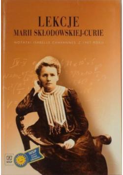 Lekcje Marii Skłodowskiej Curie