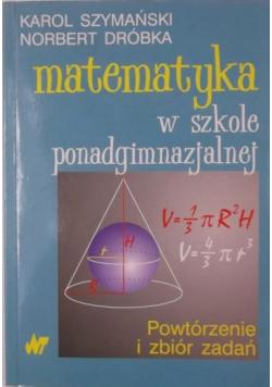 Matematyka w szkole ponadgimnazjalnej