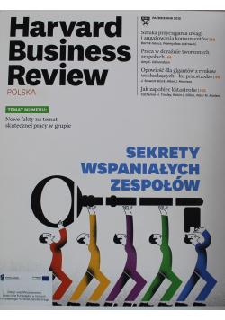 Harvard Business Review nr 10 sekrety wspaniałych zespołów