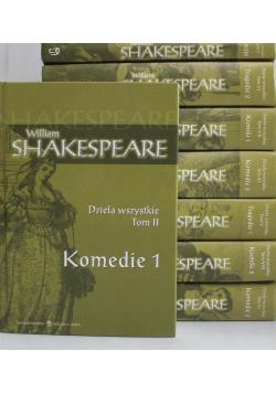 Shakespeare Dzieła wszystkie Tom od 1 do 8