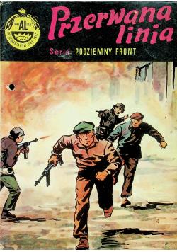 Podziemny front Przerwana linia 1 wydanie