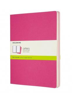 Zestaw 3 zeszytów Cahier Journals 19x25 gładki