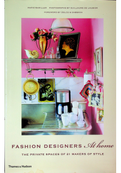 Fashion Designers at home