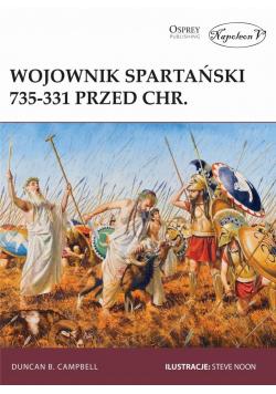 Wojownik spartański 735-331 przed Chr.