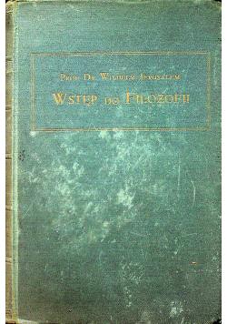 Wstęp do filozofii 1926r