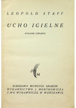 Ucho Igielne 1931 r.