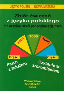 Zbiór ćwiczeń z języka polskiego, dla uczniów...