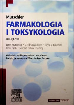 Mutschler Farmakologia i toksykologia podręcznik