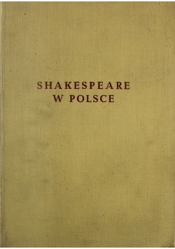 Shakespeare w Polsce
