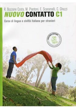 Nuovo Contatto C1 Podręcznik z ćwiczeniami