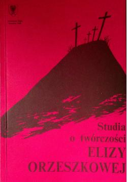 Studia o twórczości Elizy Orzeszkowej