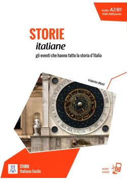 Italiano Facile - Storie italiane Podręcznik + audio online