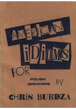 American Idioms for Polish Speakers
