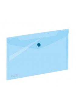 Koperta A5 na zatrzask niebieska GRAND
