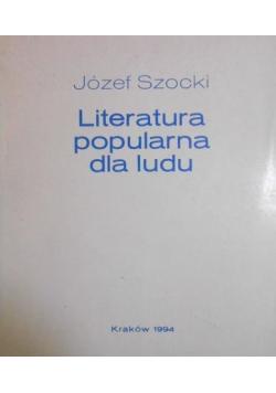 Literatura popularna dla ludu