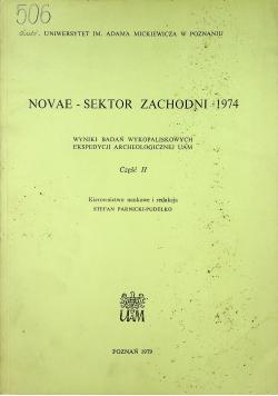 Novae Sektor zachodni 1974 Część II