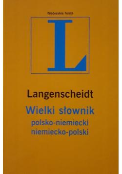 Langenscheidt Słownik maxi polsko niemiecki niemiecko polski