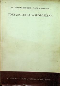 Toksykologia współczesna