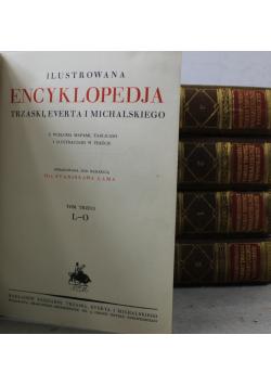 Ilustrowana encyklopedja 5 tomów 1926 r.