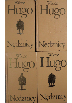 Hugo Nędznicy 4 Tomy