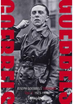 Goebbels Dzienniki Tom 1 1929-1939