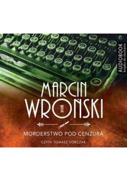 Morderstwo pod cenzurą. Książka audio CD MP3