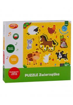 Puzzle zwierzątka