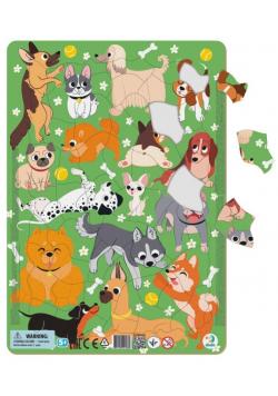 Puzzle ramkowe 53 Psy
