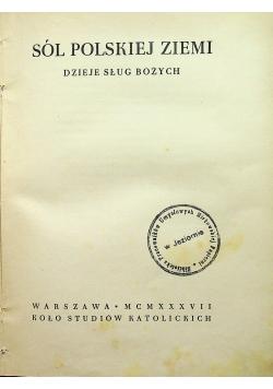 Sól Polskiej Ziemi 1937r.