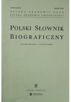Polski Słownik Biograficzny Zeszyt 202